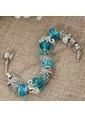 Angemiel Mavi Deniz Atı Yıldızı Ve Kaplumbağa Charm Bileklik Renkli